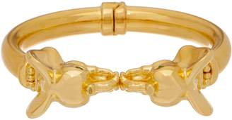 NUOVO Oro Gemstone Accent Animal Cuff, 14K