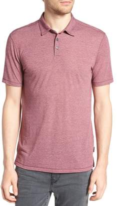 John Varvatos Regular Fit Melange Polo