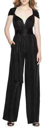 Dessy Collection Twist Convertible Wide Leg Jumpsuit