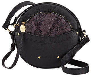 See by Chloe Rosy Mini Round Saddle Shoulder Bag