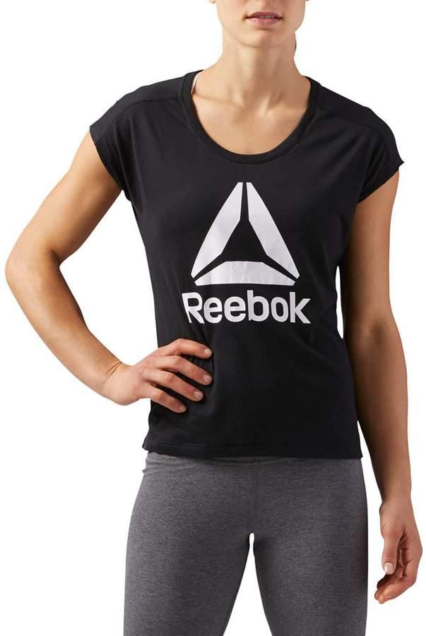 Reebok Performance Kurzärmeliges T-Shirt - schwarz
