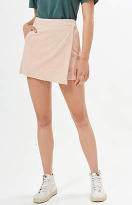 Pacsun Asymmetrical Corduroy Skirt