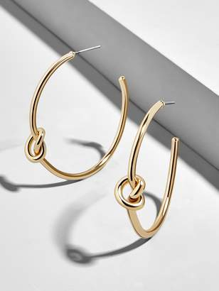 BaubleBar Cleona Hoop Earrings