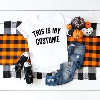 Costume Shirt - This Is My Costume - Halloween Shirt - Halloween Costume - Womens Costume - Mens Costume - Unisex Graphic Tee