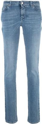 Givenchy star patch skinny jeans
