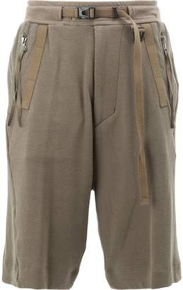 Julius belted detail shorts