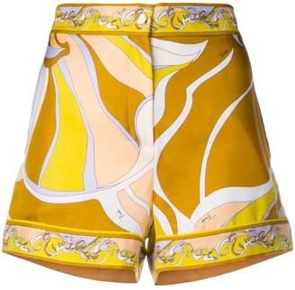 Emilio Pucci printed shorts