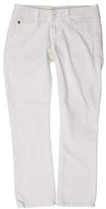 Hudson Beth Crop Low-Rise Jeans