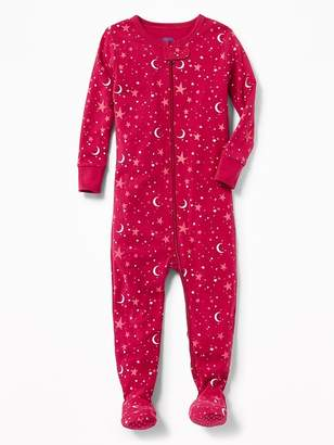 Old Navy Footed Sleeper for Toddler Girls & Baby