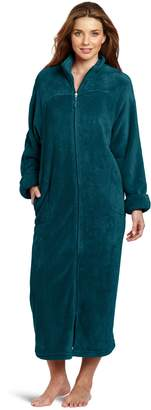 Casual Moments Womens 52 Inch Breakaway Zip Robe