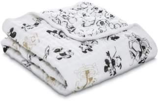 Aden Anais aden + anais Disney(R) Mickey's 90th Muslin Stroller Blanket