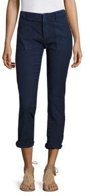 Joie Cotton & Linen Painter Pants $238 thestylecure.com