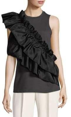 Romeo & Juliet Couture Ruffle Sleeveless Top