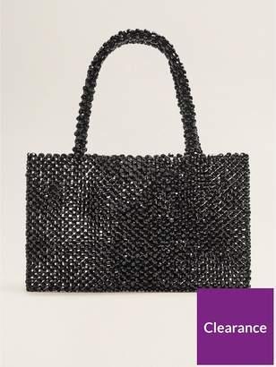MANGO Beaded Bag