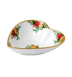 Royal Albert Old Country Roses Heart Tray 13Cm