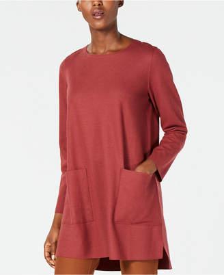 Eileen Fisher Wool Boxy Tunic, Regular & Petite