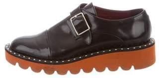 Stella McCartney Vegan Leather Flatform Loafers