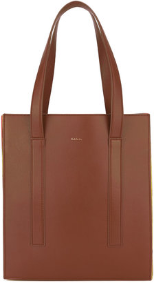 Paul Smith accordion detail tote $1,300 thestylecure.com