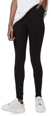 Topshop High Waisted Ankle Leggings