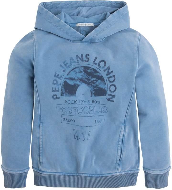 Pepe Jeans London Samu Jr - Hoodie - blau