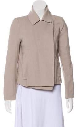 Halston Wool Structured Jacket