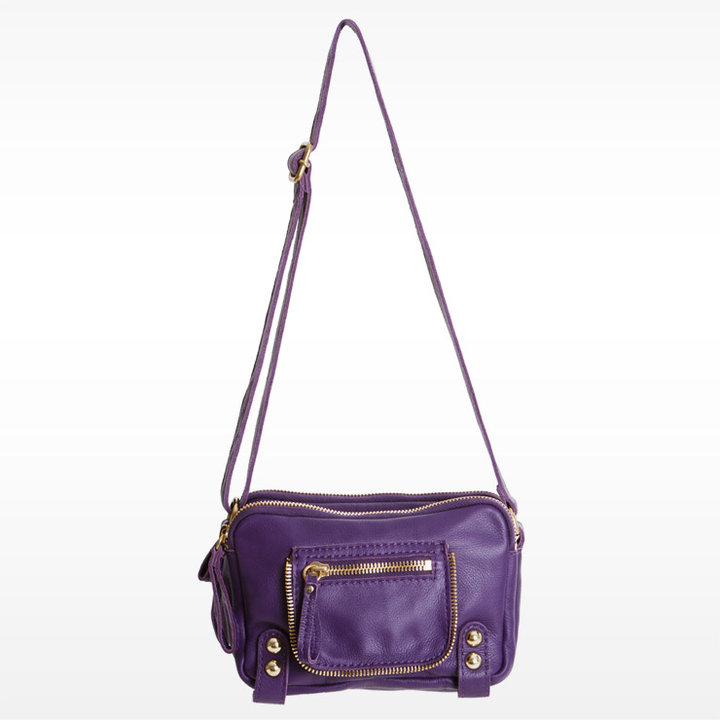 Dylan Triple Zip Shoulder Bag