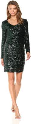 Vero Moda Women's Madison Sequin Long Sleeve Dress