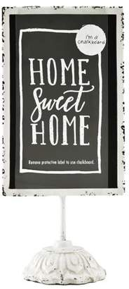 Unbranded Tabletop Cream Decorative Chalkboard