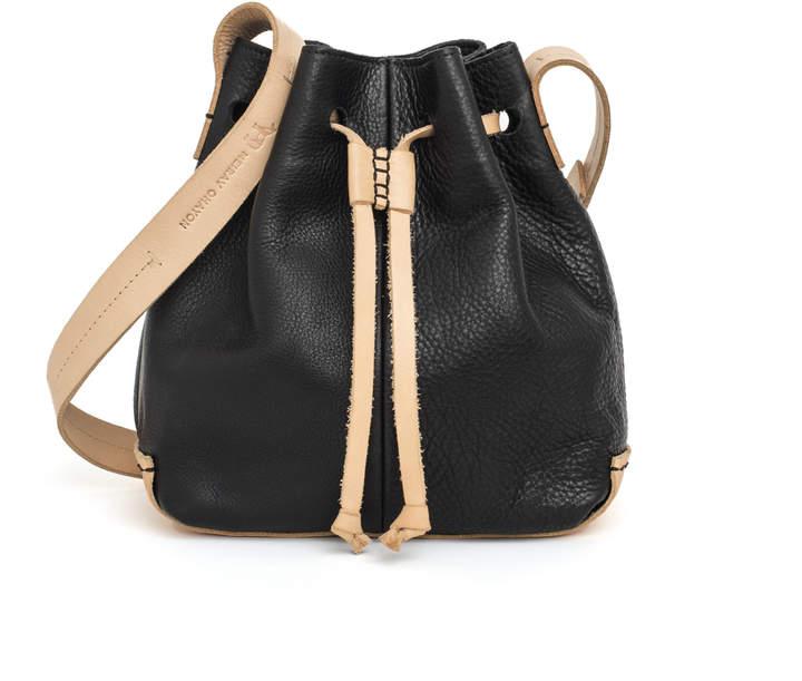 MEIRAV OHAYON Black Nude Bucket Bag