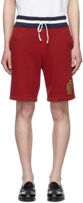 Polo Ralph Lauren Red Yale Shorts