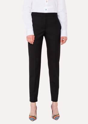 Paul Smith A Suit To Travel In - Women's Classic-Fit Black Wool Pants