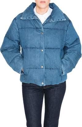 PRPS Denim Down Puffer Jacket