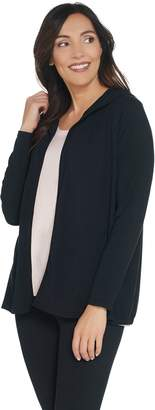 Anybody AnyBody Loungewear Cozy Knit Hooded Cardigan