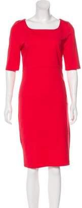LK Bennett Three-Quarter Sleeve Midi Dress