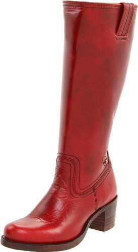 Frye Women's Sabrina Stitch Inside Zip Knee-High Boot