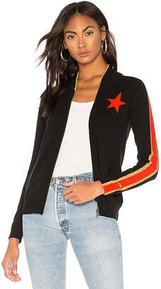 Bella Freud Billie Cashmere Zip Up Jacket