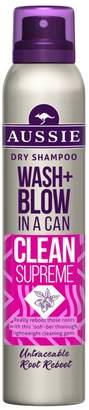 Aussie Wash + Blow Clean Supreme Dry Shampoo 180ML