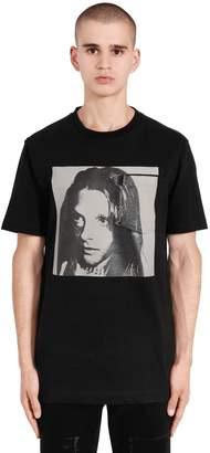 Calvin Klein Sandra Brant Cotton Jersey T-Shirt