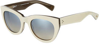 Salt Pila Acetate Cat-Eye Sunglasses