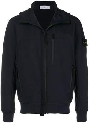 Stone Island zipped bomber jacket