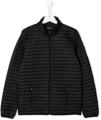 Emporio Armani Kids TEEN quilted jacket
