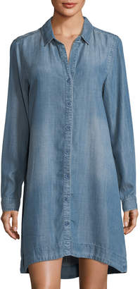 Velvet Heart Camille Chambray High-Low Shirtdress