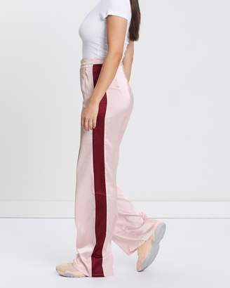 Missguided Satin Side Stripe Trousers