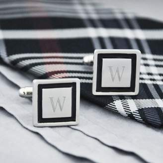 Cathy's Concepts Top Seller Black Border Designer Cuff Links