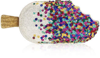 Judith Leiber Couture Popsicle Sprinkles Hard Clutch Bag
