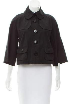 Burberry Cropped Lightweight Jacket