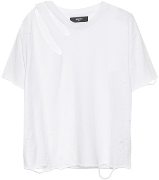 Amiri Slash cotton T-shirt