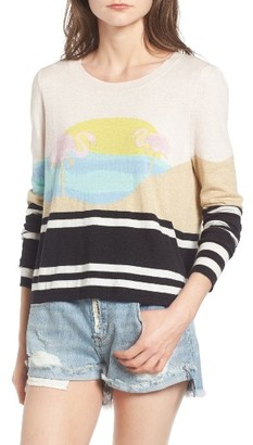 Women's Wildfox Harbour Sunset Sweater $150 thestylecure.com