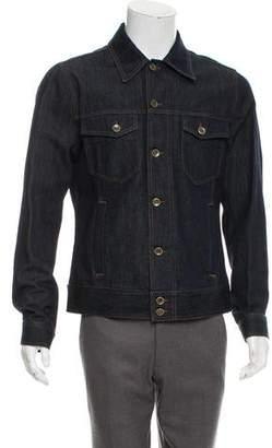 Dolce & Gabbana Denim Button-Up Jacket w/ Tags