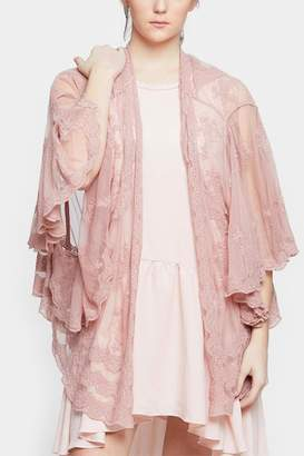 Embellish Spring Lace Cardigan